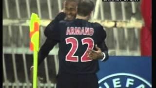 2006 (December 13) Paris St Germain (France) 4-Panathinaikos (Greece) 0 (UEFA Cup)