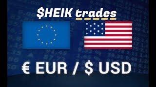 EUR/USD - FOREX (ESTUDO - PRICE ACTION) 16/10