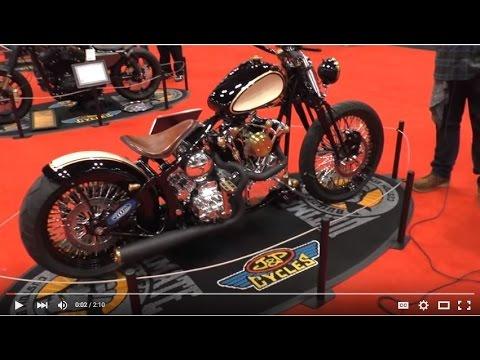Scott Avery talks Custom Harley-Davidson Springer (Video Interview)