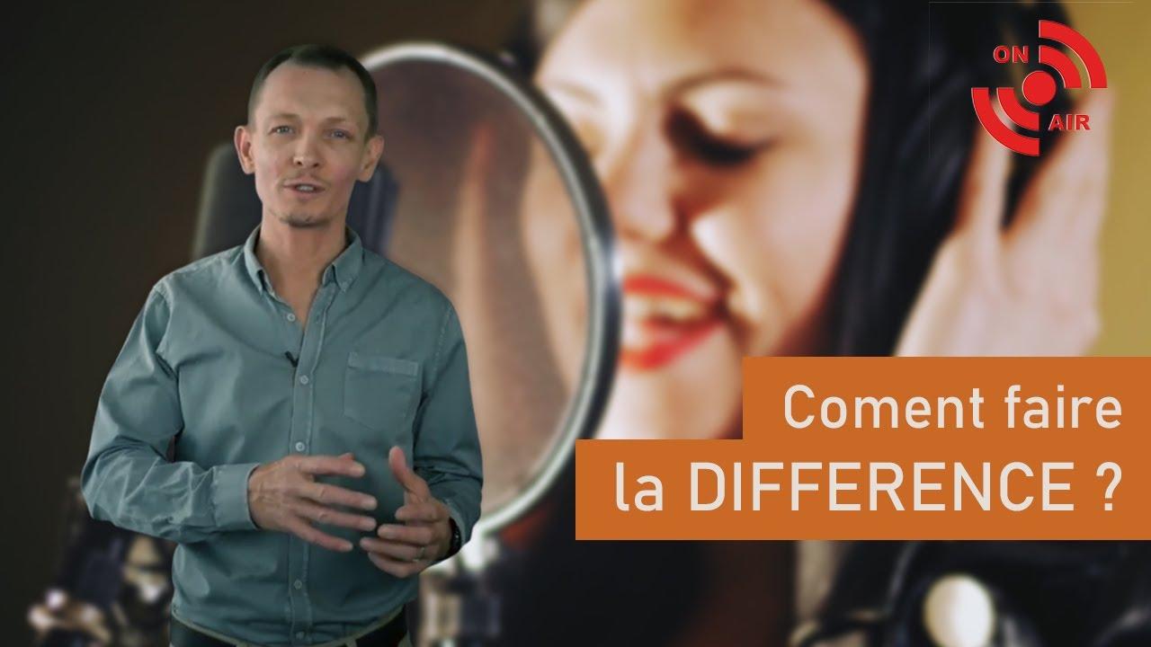 Bien chanter : Comment faire la différence ?