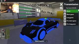 T. F. B. GAME PLAY Roblox Vehicle Simulator w/Master458