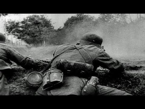 HD Stock Footage WWII Nuremberg Trials Luftwaffe Attacks - Russia Invaded - Reel 4