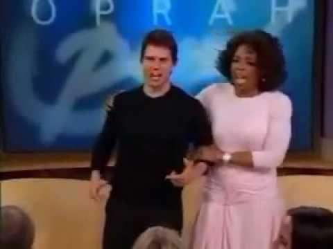 Tom Cruise loses his mind on Oprah - Original Video - ROFL!!!!!!!!!!!!!!