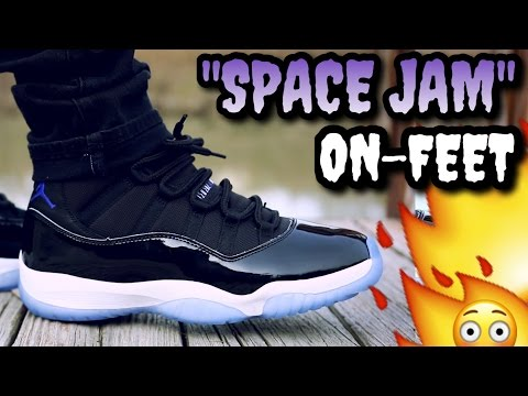 """SPACE JAM"" AJ 11'S ON FEET! DO THEY LIVE UP TO THE HYPE!?"