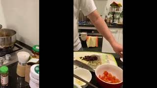 Jamie Oliver inspired seafood spaghetti