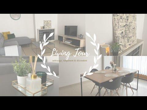 ❥ Living Tour ╳ Nettoyage, rangement & décorations