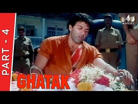 Ghatak | Part 4 Of 4 | Sunny Deol, Meenakshi, Mamta Kulkarni
