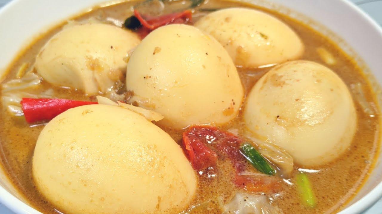 Resep Tongseng Telur Telur Masak Tongseng Resep Masakan Youtube