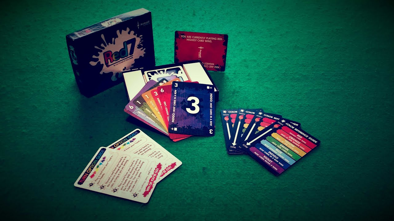 Red7 Card Game