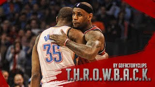 Repeat youtube video Lebron James vs Kevin Durant Full Duel Highlights 2013.02.14 Heat at Thunder - SICK!
