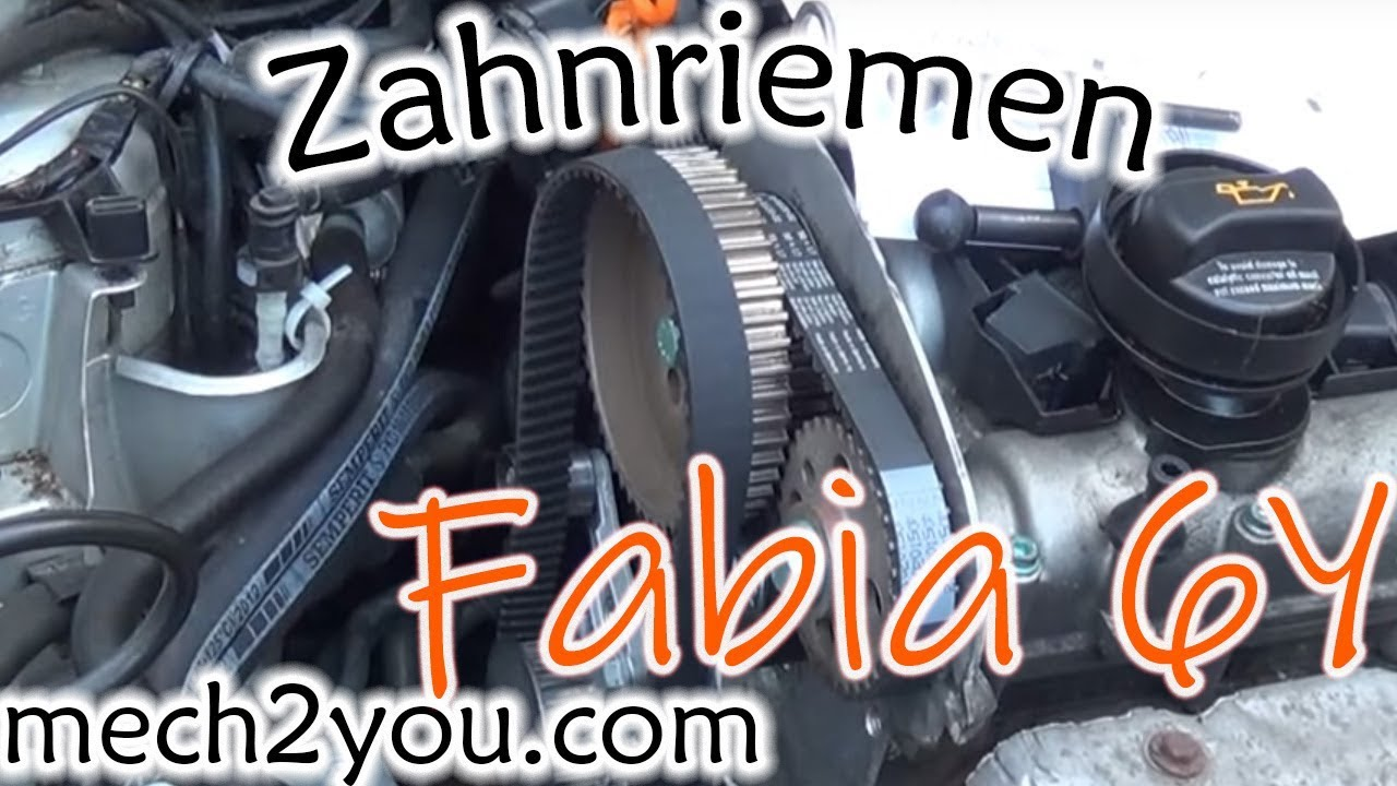 Zahnriemen wechseln skoda bj 2004 bky automatik change timing belt youtube