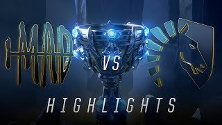 MAD v TL - Worlds Group Stage Day 7 Match Highlights (2018)
