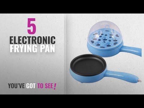 Top 10 Electronic Frying Pan [2018]: Vmore Egg Boiler Electronic Non Stick Frying Pen (Multicolor)