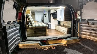 Stealth Tiny House Camper ( DIY Cargo Van Conversion Explained )