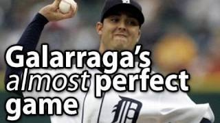 Armando Galarraga Pitches A PERFECT GAME ... almost