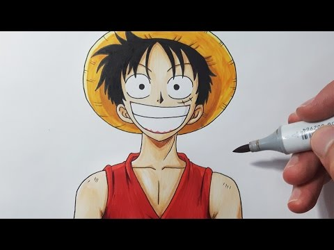 how-to-draw-luffy---step-by-step-tutorial!