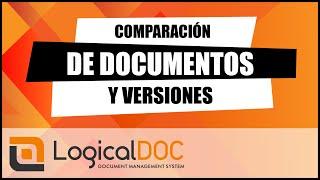 Compara dos documentos en LogicalDOC