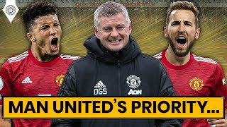 Is Harry Kane Man United's Priority Transfer Signing? | Transfers LIVE