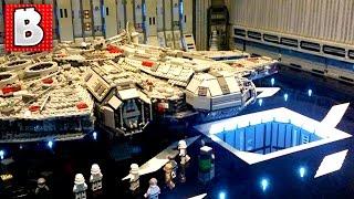 Repeat youtube video Huge Lego Star Wars Death Star Creation !!! Bricks LA 2016