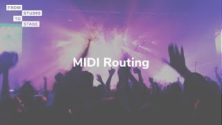 MIDI Routing with a MioXM or MioXL interface and Auracle for X-series