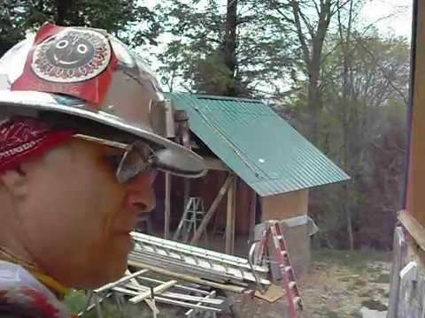 Install Metal Roof On Shed