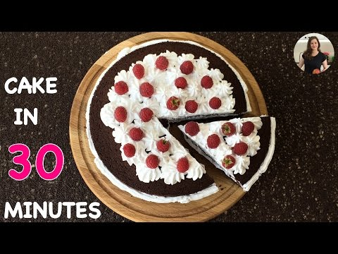 Chocolate Cake in 30 Minutes