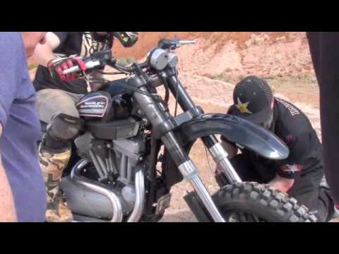 Harley World Record Unofficial Long Distance Jump (By Jack Walker Testing  Seth Enslow's Harley)