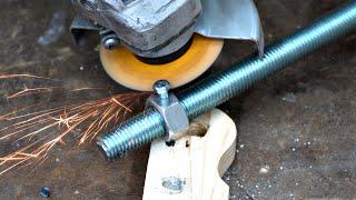 DIY Wooden Bench Vise