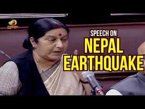 Sushma Swaraj Parliament Speech On India Nepal Relations | Full Speech | Madhesi Protest