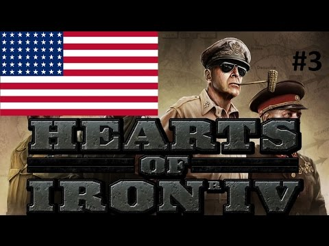 Hearts of Iron 4 USA 3 Deploy the Marines!