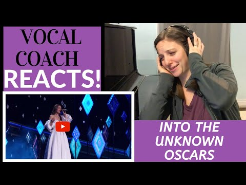 Vocal Coach Reacts to Idina Menzel's Performance at the Oscars 2020! - Into The Unknown