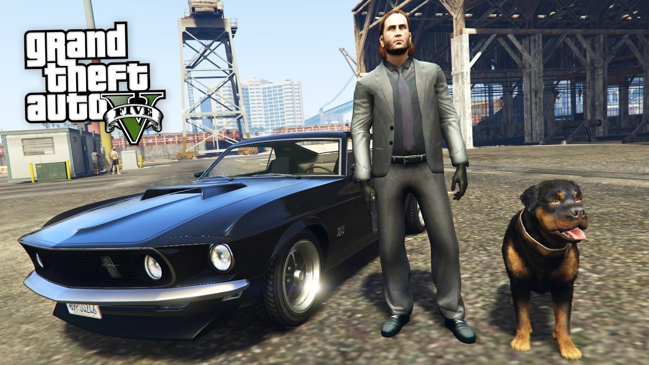 John Wick 2 Gta 5 Mods Youtube