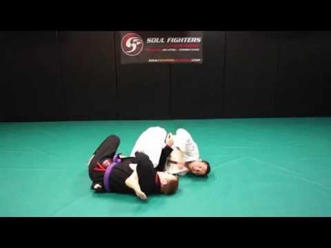 Half Guard Knee Shield - Scissor Sweep