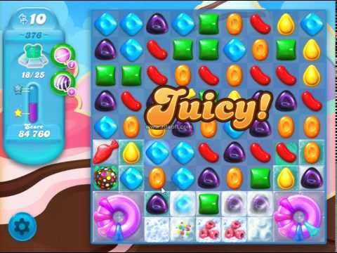 how to pass level 376 on candy crush