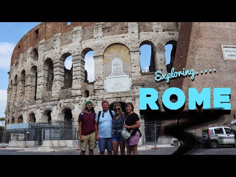 Exploring ROME! | Rome Travel Vlog//Colosseum, Vatican City & MORE