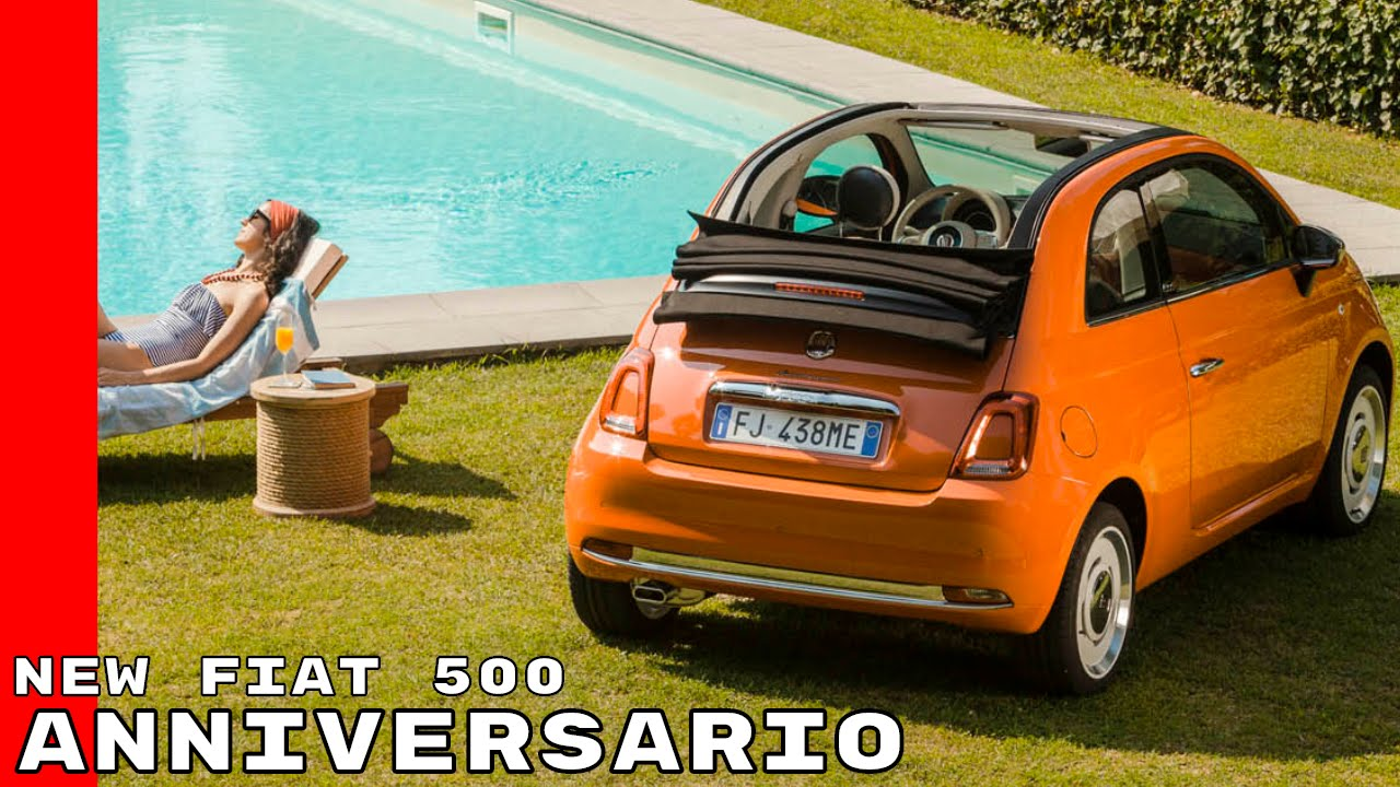 new fiat 500 anniversario youtube. Black Bedroom Furniture Sets. Home Design Ideas