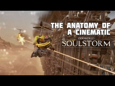 Oddworld: Soulstorm VFX Breakdown of a Cinematic from Unity GDC Keynote 2019
