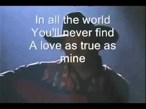 George Strait I cross my heart lyrics