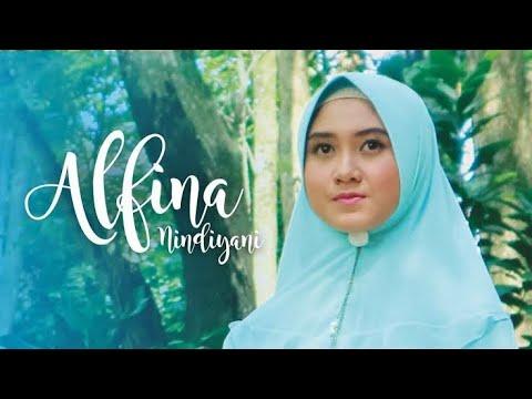 Lagu Sholawat (merdu 2019) - Innal Habibbal Mustofa (lirik Musik Video) - Alfina Nindiyani