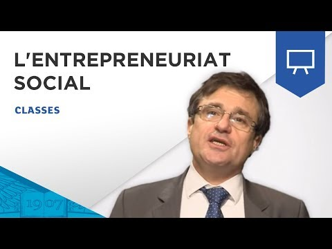 Cours d'introduction à l'Entrepreneuriat Social par Thierry Sibieude