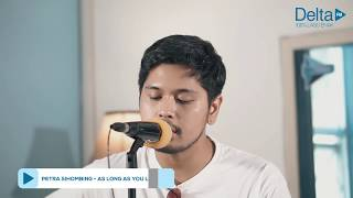 PETRA SIHOMBING - AS LONG AS YOU LOVE ME (live at Delta FM)