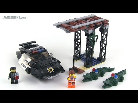 lego movie set review bad cop 39 s pursuit 70802 youtube. Black Bedroom Furniture Sets. Home Design Ideas