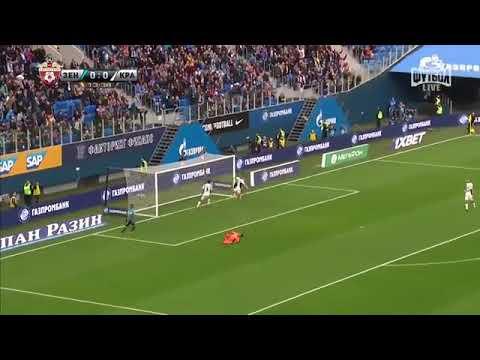 Zenit - Krasnodar : 1 - 2 | IL MANCIO PERDE ED ESCE DALLA ZONA CHAMPIONS | 07/04/2018