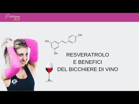 Resveratrolo e benefici del vino