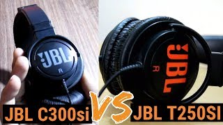 Comparison Between JBL C300SI vs JBL T250SI