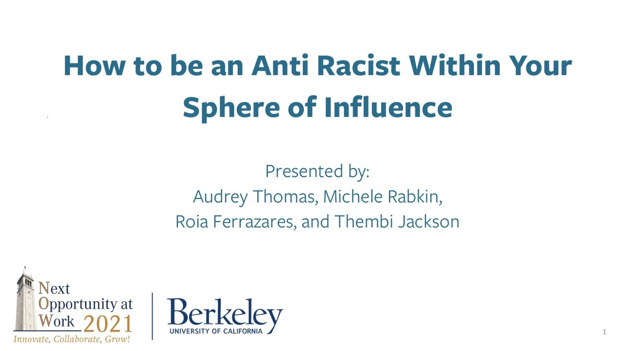 Download How to be an Anti Racist Within Your Sphere of Influence