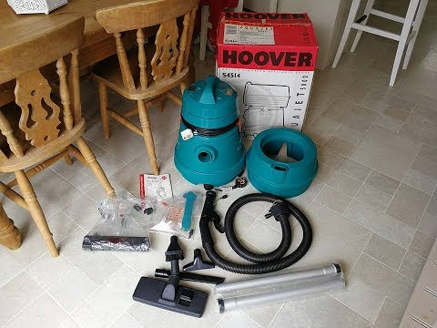 Hoover Aquajet 5000 Unboxing And Overview