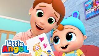 I Love You Mommy! | Little Angel Kids Songs & Nursery Rhymes