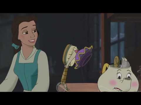 Beauty and the Beast The Enchanted Christmas Disneycember 2015
