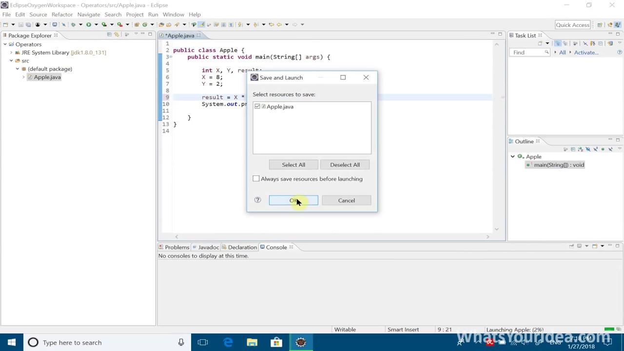 Java Programming Tutorial - 7 - Math Operators
